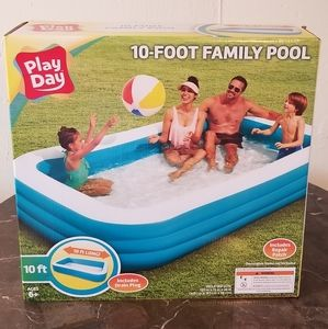 10FT INFLATABLE FAMILY POOL